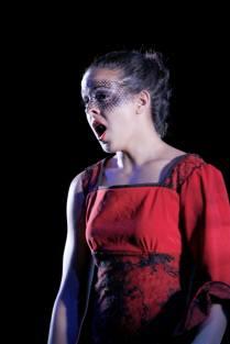 Poisonous Flower in FSU Opera's La Hija di Rappaccini: Taken by Jon Nalon