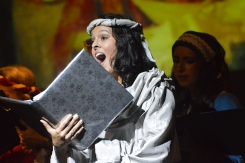 "Singing as the Angel in Gulfshore Opera's production of Respighi's ""Laud to the Nativity"": Taken by Anthony Zollo"